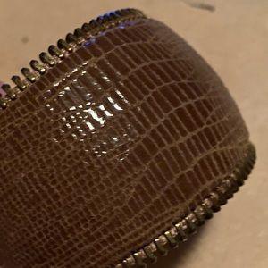 Ted Rossi Snake Zipper Cuff